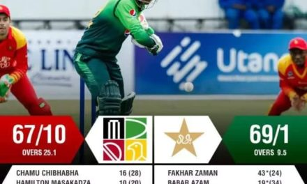 Pakistan made world record, won match in 9.5 overs, Fakhar played a stormy innings