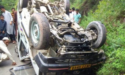 Seven injured including 60 year old woman in road accident in Uri