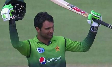 Records tumble for Pakistan as Fakhar s double ton bolsters highest-ever total of 399