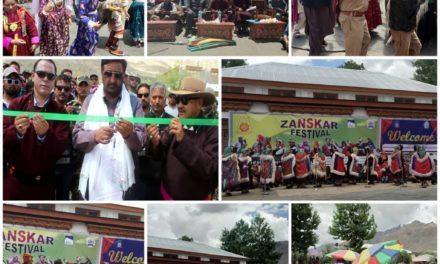 Chairman LC inaugurates Zanskar Festival Calls for strengthening of age old ethos of communal harmony, brotherhood