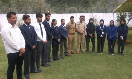 SSP and DySP meet members of National Dojo academy Ganderbal ,assured full support