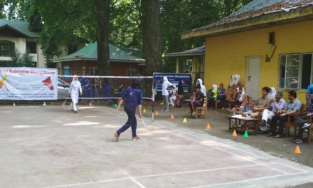 5th District Badminton Championship kick started in Ganderbal