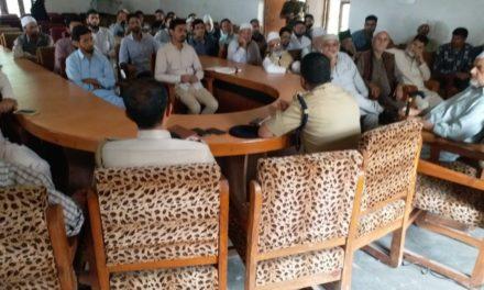 Budgam police organizes PCPG meeting