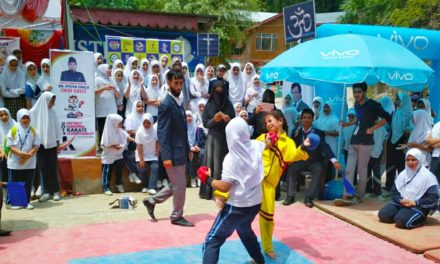 District Ganderbal Karate Championship begins