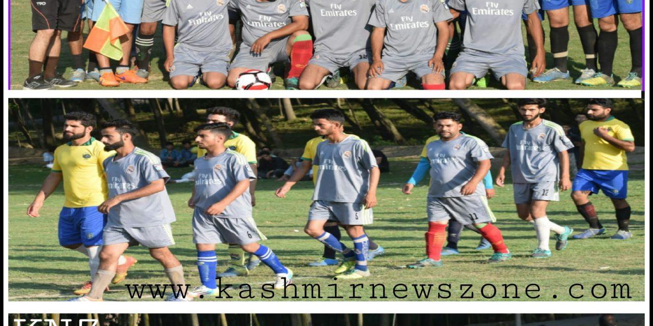 Meeran Sports Football Tournament 2018, Batwina Ganderbal.