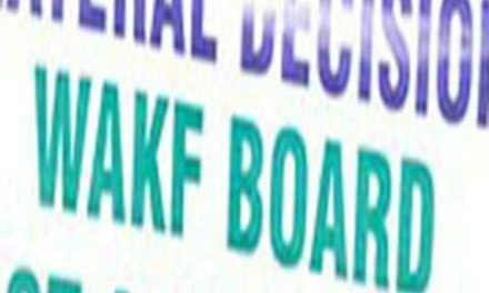 Wakf Board 'hub of 'corruption and nepotism'