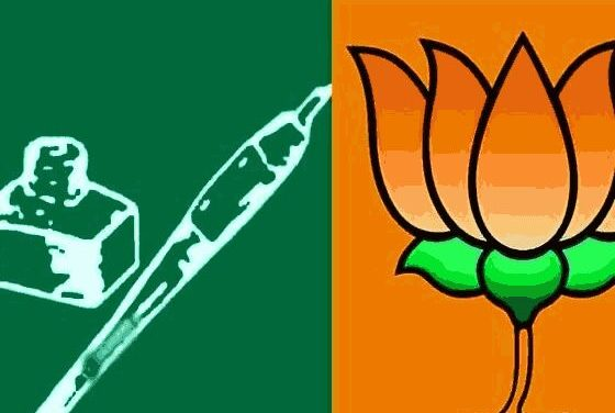 PDP-BJP Likely to Form Re- Government