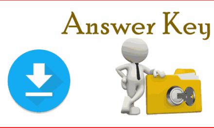 KU: Answer Keys Entrance 2018