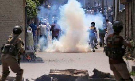 Over 30 injured during clashes in slain militant's native Pahalgam village