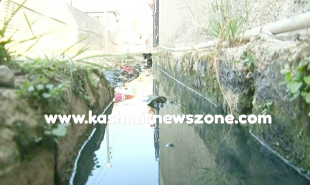 Residents Of Alamdar Colony (C) Lal Bazar Protest inoperative Drainage System.