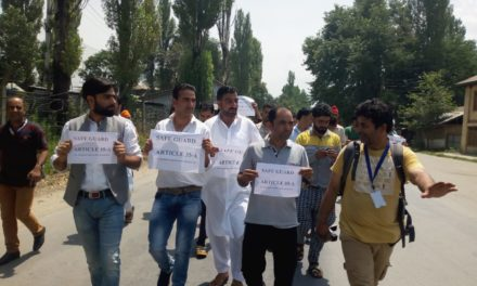 Article 35-A : Shutdown, protests in Ramban district of Jammu and Kashmir