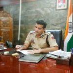 SSP Khalil Poswal Takes Charge as SSP Ganderbal