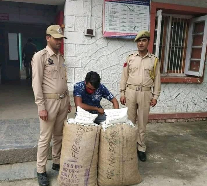 Driver Arrested With Poppy Straw at Kokernag
