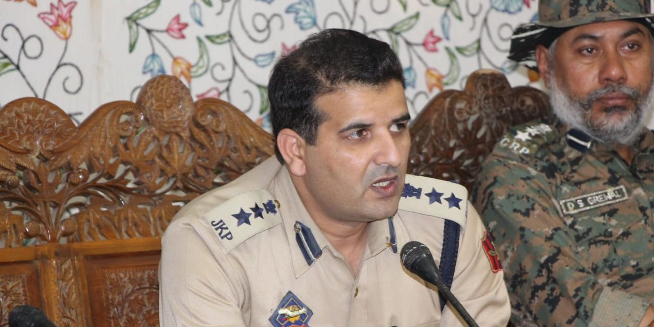 SSP Ganderbal Visits Baltal base camp,took reviews of security arrangments