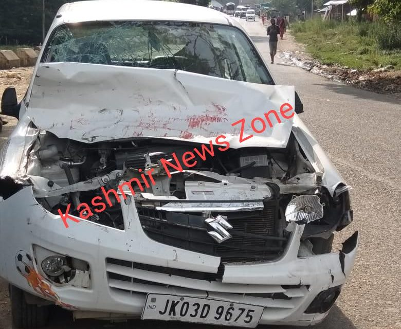 Three persons injuried in road accident at Kokernag