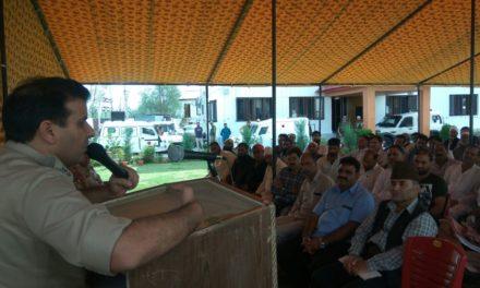 Police Community Participation Group meeting held In Ganderbal