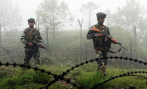 Three army men, two militants killed along LoC in Rajouri