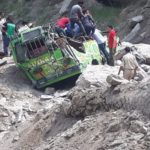 Five dead, eight injured after landslide hits passenger vehicle in Kishtwar