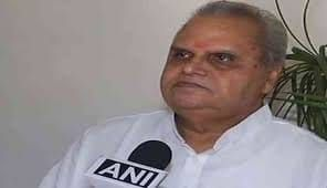 Flash : Satya Pal Malik appointed as Governor of Jammu & Kashmir.He was earlier Governor of Bihar.