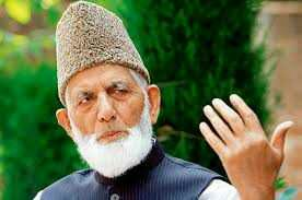 Geelani condemns killing spree and CASOs in South Kashmir