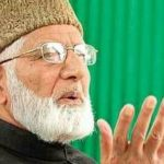 Geelani accused Forces of using chemical weapons during cordon and search operations