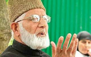 Geelani welcomes Michel Bachelet's statement