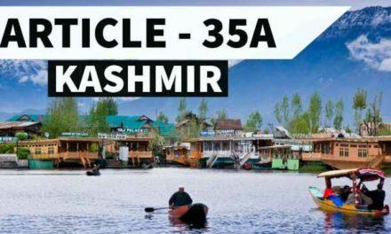 Muzafar Shah for consensus on Article 35-A
