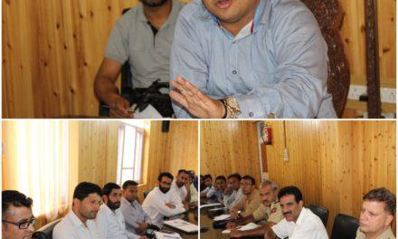 Civil Society Kangan meets DDC G'bal Evaluates various developmental issues of the Sub Division