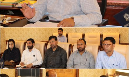 DDC G'bal reviews progress of DILRMP  Jamabandies of 68 villages completed