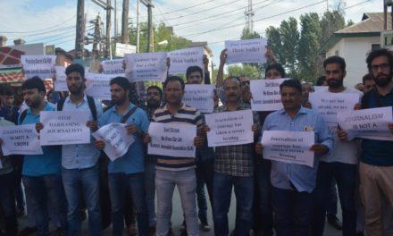 KJA protests against arrest of journalist Asif Sultan, 'Demands his immediate release.