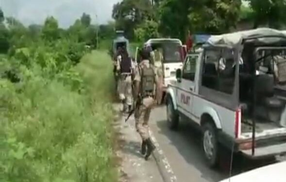 Jammu Encounter: One Militants killed, SDPO Nagrota and other crpf person's injured encounter going on