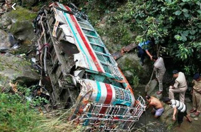 Kishtwar road mishap leaves 17 dead, 16 injured