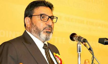 Altaf Bukhari meets Governor