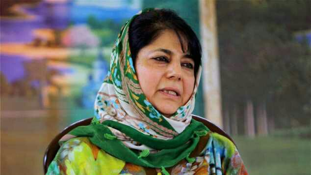 Mehbooba greets people on Diwali