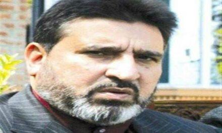 Altaf Bukhari grieved over Chattabal fire incident