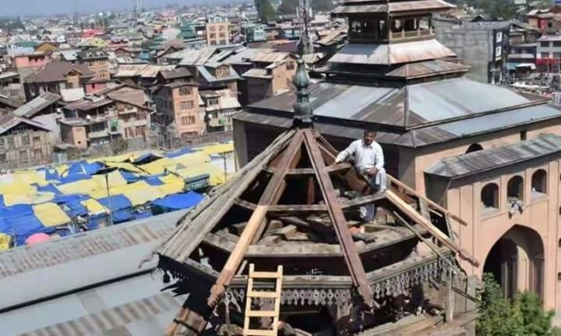 Jamia Masjid Srinagar restoration work commences, facelift after 250 years