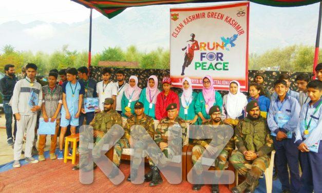 Indian army Organised Clean Kashmir Green Kashmir in Ganderbal