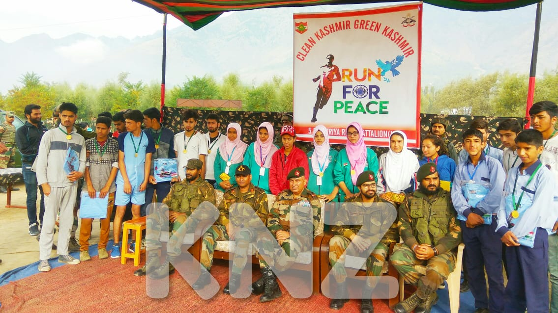 Indian army Organised Clean Kashmir Green Kashmir in Ganderbal
