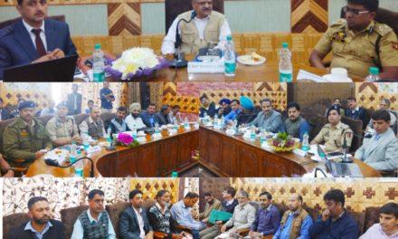 CS Reviews Election Arrangements in Kupwara; Takes Stock Of Developmental Works