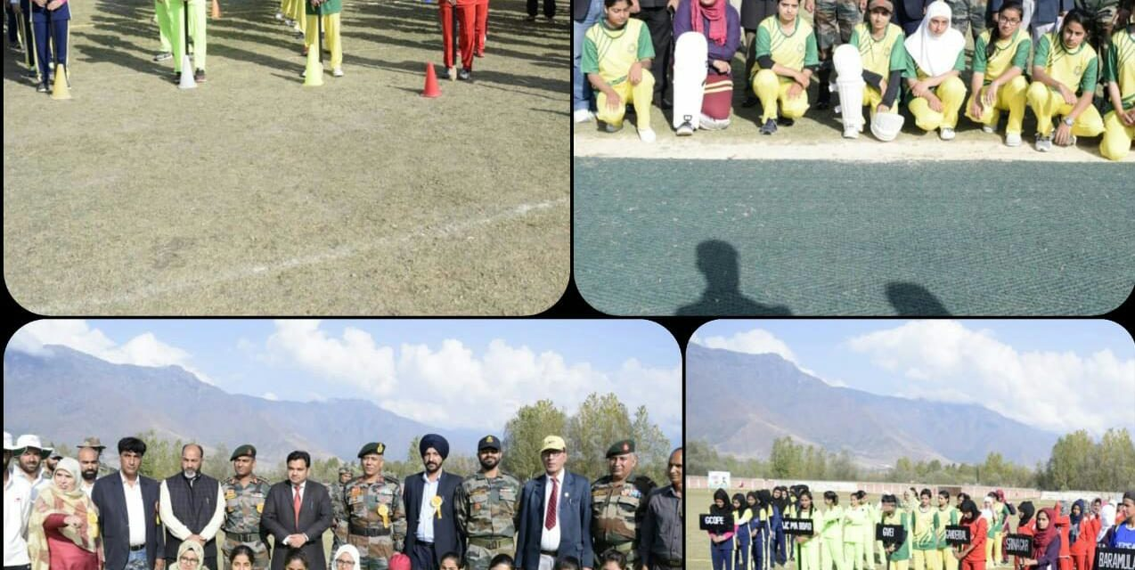 Kashmir Inter District Women's Cricket Championship Commences At Gadoora Ganderbal
