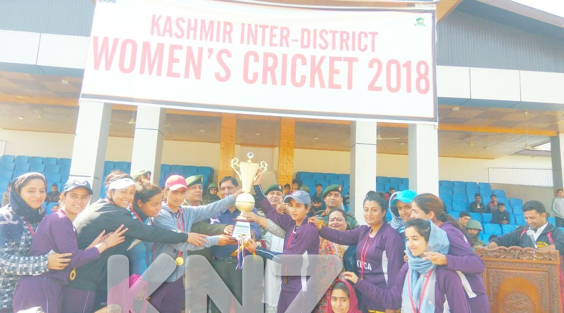 Kashmir Women's cricket championship concludes at Ganderbal