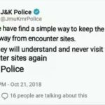 Fake image of Twitter account of JK Police being circulated says Police