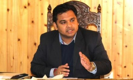 DC Ganderbal appeals to public for maximum participation in polls on Tuesday