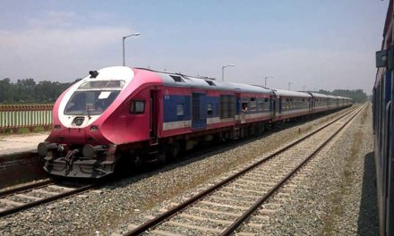 Train service remains suspended for security reasons in Kashmir