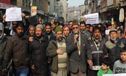 Yasin Malik condemns 'bloodbath' in Kashmir