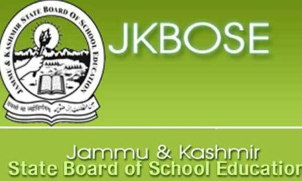 JKBOSE: Class 10th Annual Regular 2018 _Kashmir Division Online Application for Re-Evaluation/Xerox