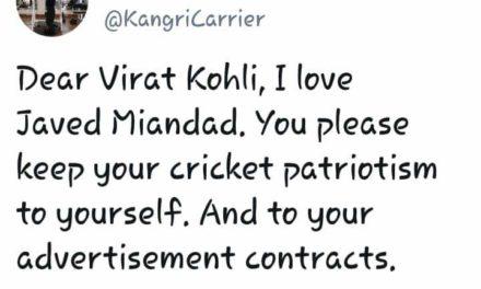IGP Rath slams skipper Virat Kohli for his 'leave India' remark to a fan