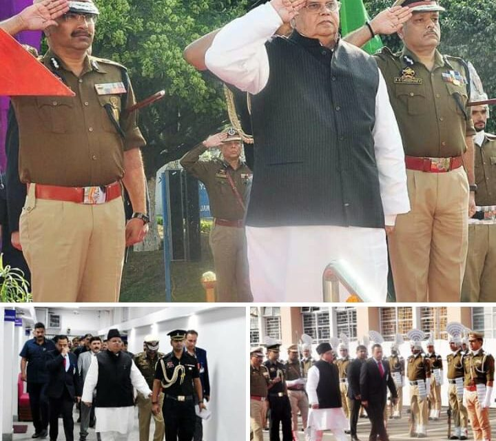 Darbar opens at Jammu, 'Governor accorded ceremonial reception on his arrival at Civil Secretariat'