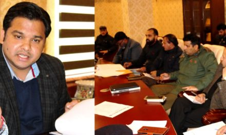 DDC Ganderbal chairs District Road Safety Committee meeting
