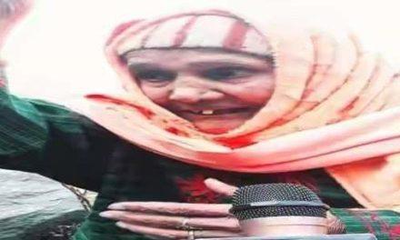 Panchayat polls: 100 year old woman casts her vote in Uri village